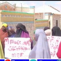 Hargaysa:Ehelada Shiikh Aadan Sune Oo Ku Xidhan Magaalada Hargeysa Oo Madaxwaynaha Somaliland Ka Codsaday Inuu Cafis U Fidiyo.