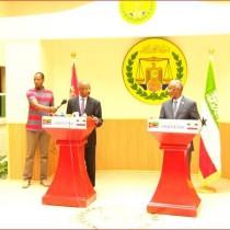 War Deg Deg Ah: Wasiirka Arrimaha Dibedda Dalka ERIETRIA oo Caasimada Somaliland Soo Gaadhay +Kulana La Qaatay Madaxwaynaha Soomaliland