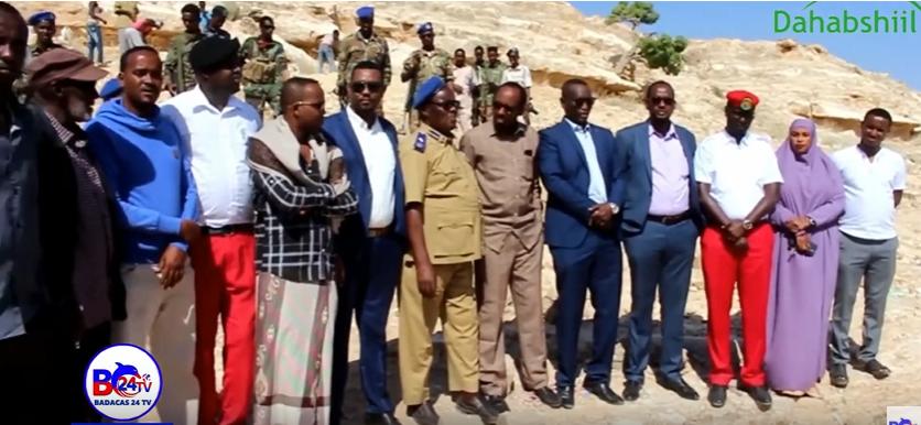 Xukuumadda Somaliland Oo Markii ugu Horaysay Xarun Dab-damis ka Hirgalinayasa Magaalada Laascaanood