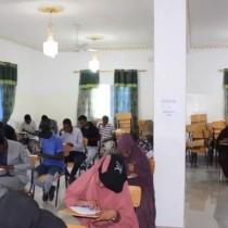 Hargaysa:-Jaamacada Edna Aden University Ee Magalada Hargeysa Oo 600 Arday ka Qaaday Imtaxaanka Galintanka Jaamacada.