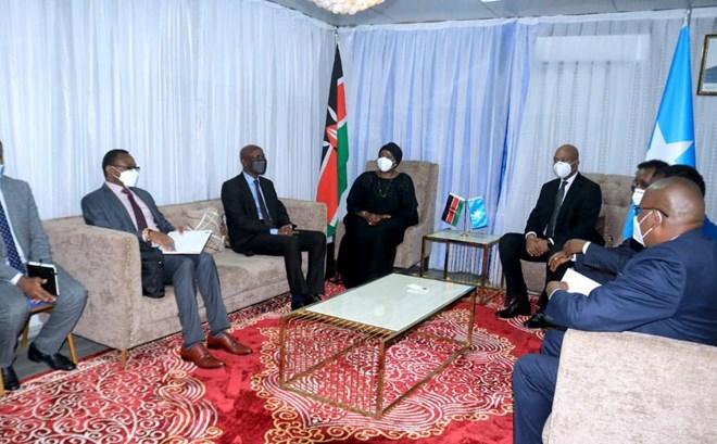 Muxuu ku saabsan yahay safarka wasiirka arrimaha dibedda Kenya ay ku tagtay Muqdisho