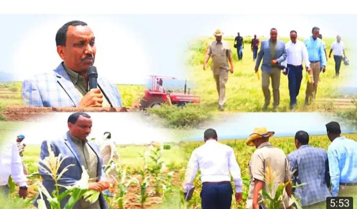 Wasiirka Beeraha Somaliland Oo Soo Kormeeray Mashruuca Banka Wajaale