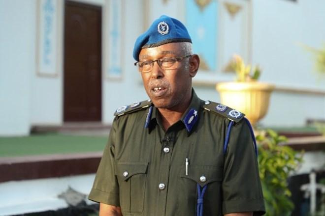 """Waxaan qabanay ciidamo magac-yo iyo darajooyin kala duwan mishaar ku qaadanayay""""Taliyaha Ciidanka Police-ka Somalia."""