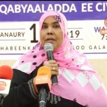 """Hargaysa:"""" Waxa jira Dhalinyaro Xafiiska farmaajo laga Maamulo oo Somaliland ah.."""" Wasiir Hinda Jamac Gaani."""