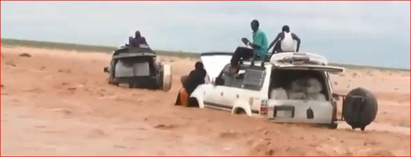 Roobab Mahiigan Oo Ka Curtay Gobolada Bariga Somaliland Iyo Gaadiid Tiiro Badan Ku Xaniban