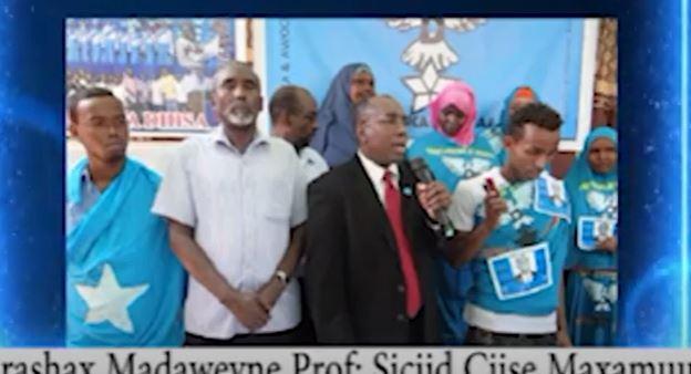 Ajandaha Olalaha Madaxweyne Soomaaliya Prof.Siciid Ciise