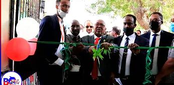 Madaxwayne ku Xigeenka Somaliland oo Xadhiga ka Jaray Dhismaha Cusub ee Wakalada Biyaha Berbera.