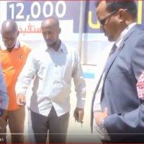 Hawd:Wasiiro Ka Tirsan Xukuumada Somaliland Oo Kormeeray Mashaariicda Ka Socota Gobolka Hawd