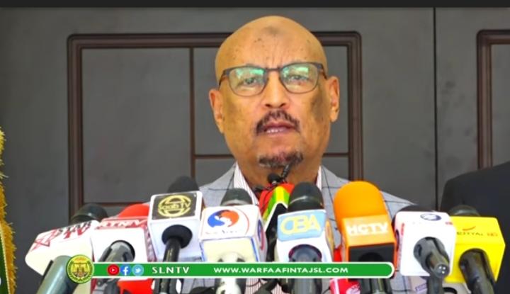 Gudaha:-Faysal Oo Fariin adag u diray World Banka iyo Bulshada Somaliland kana hadlay Diidmadi Wakiilada.