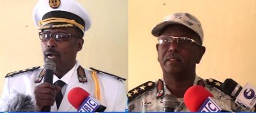 Gudaha:-Taliyihii Hore Ee Ciidamad Ilaalada Xeebaaha Somaliland Oo Xilkii Ku Wareejiyay Taliyaha Cusub.