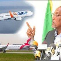 Madaxweynaha Somaliland Oo Lagu Baaqay Inu Siidaayo FLY Dubia. Air Arabia.