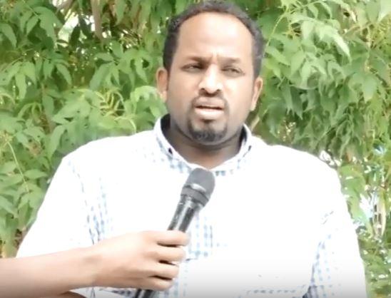 Gudaha:-Siyaasi Abdinasir Muxumed Xasan Buuni Oo Ka Hadlay Hadalkii Taliye Nuux Taani Ee Uu Ku sheegay In Uu Caare Danbile Qaran Yahay.