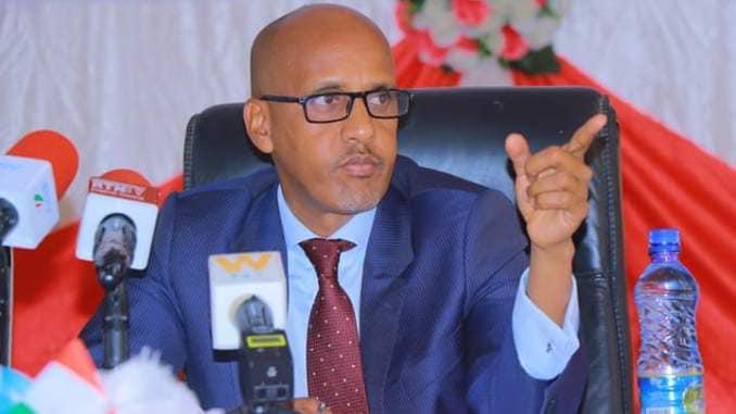 Madaxweyne Mustafe Cagjar Oo Ku Gacan-saydhay Go'aan Kasoo Baxay Guddida Doorashooyinka Ethiopia .