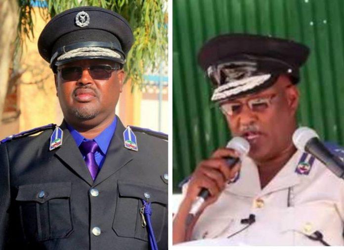Gudaha:-Taliyihii Hawl-galinta Ciidanka Booliska Somaliland Oo Xilkii Laga Qaadey iyo Masuulka Laga Badalay.