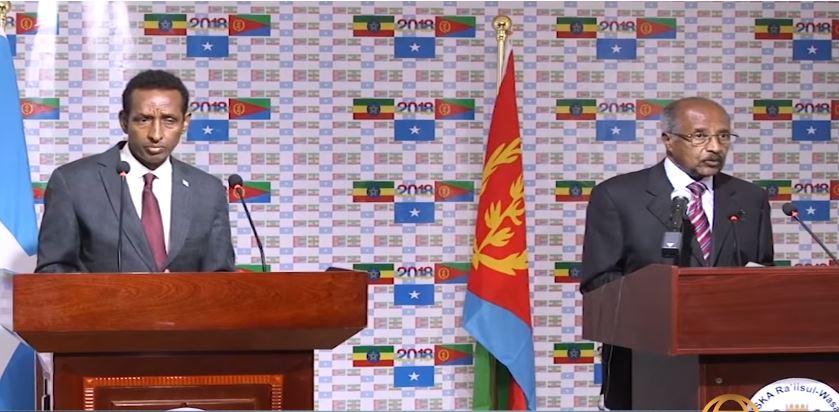 Maxaa Uu Daaran Yahay Heshiiska AY Shalay Wada Gadheen Somaliya , Itoobiya Iyo Eritrea