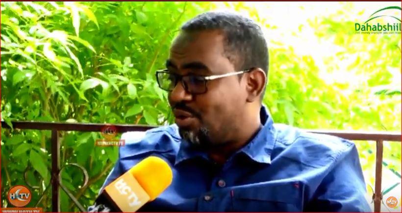 Gudaha:-'' Shirka Burco Shir-Beeleed Maaha Ee Waa Shir Siyaasadeed '' Wasiirka Gaadiidka Somaliland C/laahi Abokor Cismaan.