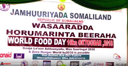 Hargaysa:-Wasaaradda Beeraha Somaliland Oo Soo Qaban-Qaabisay kulan Lagu Xusayay Maalinta Cuntadda Aduunka