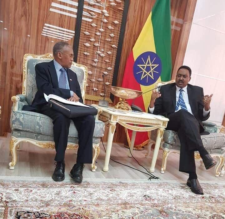 Ethoipia:-Wasiirka Arimaha Debeda Somaliland Oo Kulan La Qaatay Dhigiisa Arimaha Debeda+Arimaha Ay Ka Wada Hadleen.