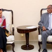 Hargaisa; Madaxweynaha Somaliland Oo Kulan la qaatay wefti ka socda Hay'adda Caalamiga Ah Ee Laanqayrta Cas Ee (ICRC)