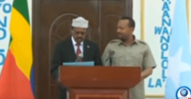 MUQDISHO- SHACABKA MUQDISHO OO SIDA FIINTA UGA QAYLIYEY HESHIISKII SOMALIA IYO ITOOBIYA