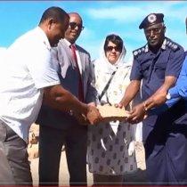 Daawo:-Taliyaha Ciidanka Laanta Socdaalka Somaliland Oo Dhagax Dhigay Dhismayaal Cusub Iyo Goobaha Laga Dhisayo.