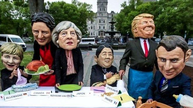 Canada:-Dagaalka ganacsiga oo noqday mowduuca ugu saameynta badan shirka G7.