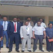Wafdi Uu Hogaaminayo Agaasimaha Guud Ee Wasaarada Biyaha Somaliland Oo Tagay Ethopiya.
