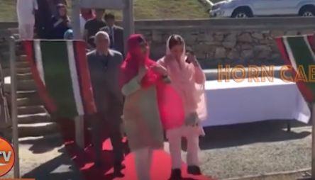 Caalamka:- Malala Yousafzai oo Dib Ugu Laabatay Tuuladii Ay Ku dhalatay.