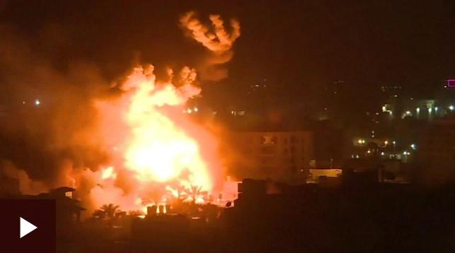 Tel Aviv:-Duqaymo Culus Oo Ay Israa'iil Ka Gaysatay Marinka Qaza
