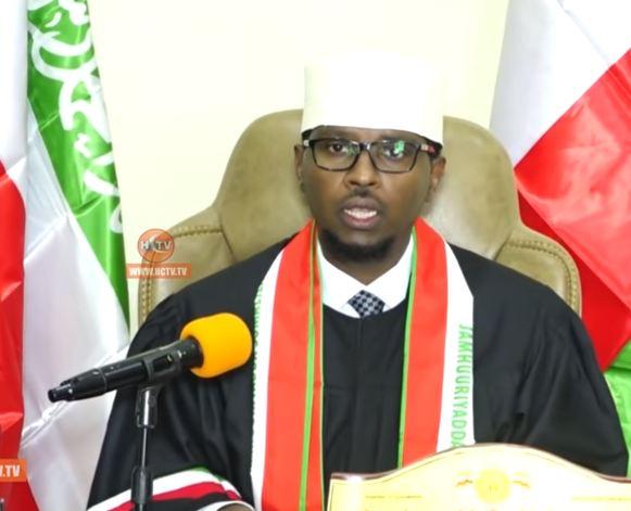 Hargeysa: Daawo Guddomiyaha Maxkamadda Sare ee Somaliland oo si gaar ah Shacabka ugu hambalyeeyey Xuska 18 may