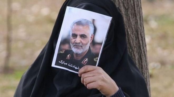 Jeneraal Qasem Soleimani oo maanta la aasayo