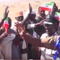 Wasiirka Cusub Ee Warfaafinta Somaliland Saleeban Cali Koore Oo Lagu Soo Dhaweeyay Deegaanka Taleex Ee Gobalka Xaysimo