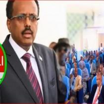 Wararkii Ugu Danbeeyey Ee Mooshinka Lagaga Qaadayyey Xilka Madaxwaynaha Somaliya Oo Gaalay Meel Xasaasiya