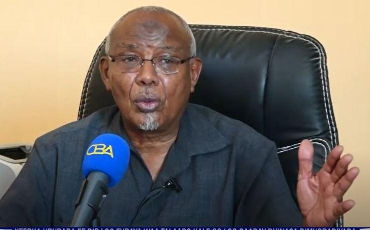 ''Xeerka Dib-u Furisra Ururada Siyaasadu Waa Talaabo Weyn Oo Somaliland...'' Pro Cabdisalaan Yaasiin
