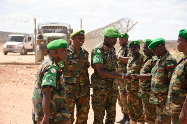 Ciidammada AMISOM Oo Saldhig Loogu Samaynayo Meel Xuduudka Somaliland U Jirta 60KM.