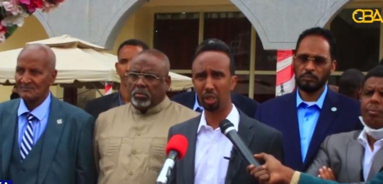Addis ababa: Daawo Xisbiyada mucaaradka deegaanka Soomaalida ayaa kulan ku yeeshay magaalada Addis-ababa