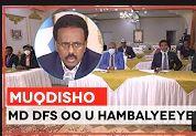 Maxadweynaha Dawlada Somalia Ayaa Kulan La Qaatay Madaxda Xarumaha warbaahinta Uguna Hambalyeeyey Malinta Saxaafada