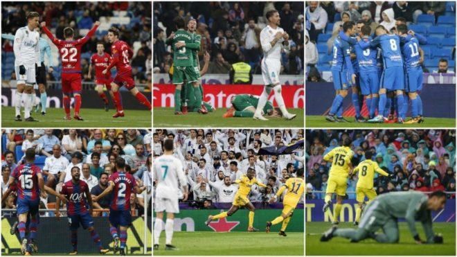 XOG: Real Madrid Oo Taariikhdii Ugu Xumayd Qarnigan 21-Aad Loogu Diwaan Galiyay Santiago Bernabeu, 12 Kooxood Oo Guul Ama Barbaro Ku Helay Iyo Zidane Oo Taariikh Xun Dhigay.