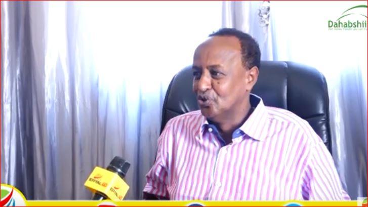 Hargeisa:-Wasiirka Booska Ciyaaraha Somaliland Oo Eedo Kulul Uu Jeediyey Hogaanka Xisbiga Wadani