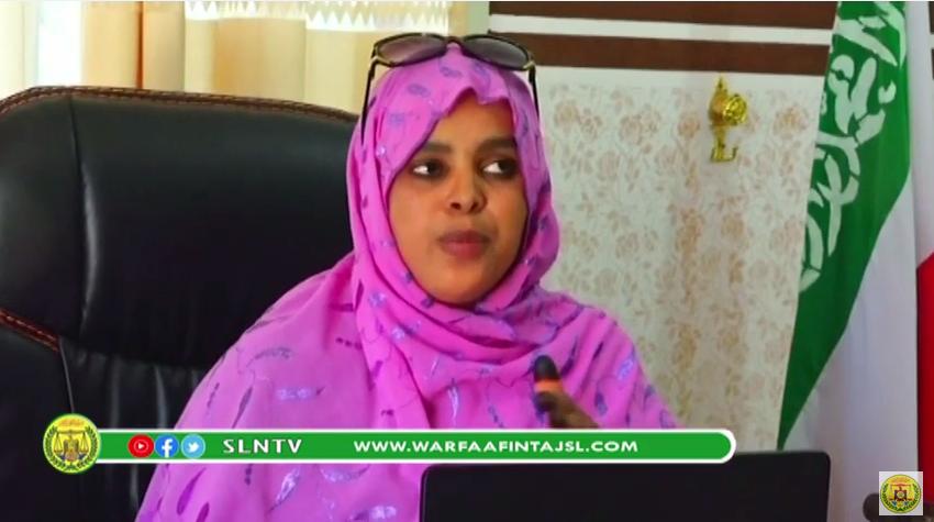 Hargysa:WASIIRKA GASHANDHIGA SOMALILAND AYAA KAHADLAY XEERKA XAQSIINTA CIIDAMADAQARANKA