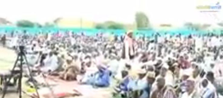 Gabiley: Daawo Wasiirro Salaaddii Ciida la Tukaday Dadweynaha Reer Gabilay iyo Khudbadihii ay jeediyeen