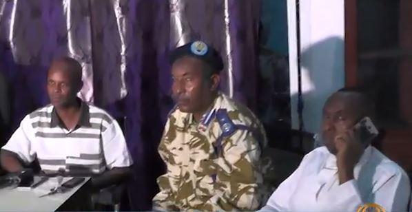 Saaxil:-Maamulka Gobolka Iyo Taliyaha Ciidanka Saaxil Oo Taageeray Ciidanka Qaran Somaliland Ee Dagaalka Kula Kuwa Maaamulka Putland.
