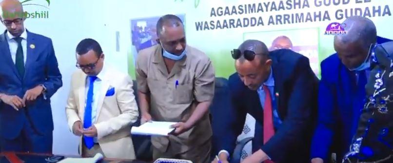 Daawo: Xilwareejintii Agaasimayaasha Guud ee Wasaaradda Arrimaha Gudaha JSL