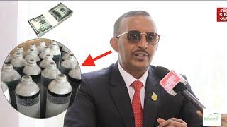 """""""Waa Danbi Qaran In Maamulka Cusbitaalka Burco Iibiyo Hamihi Oxgen-ta"""" Gudida Coronavirus Ee Somaliland Oo Ka Hadlay Qalabkii Oxgenta Oo La in La iibiyay"""