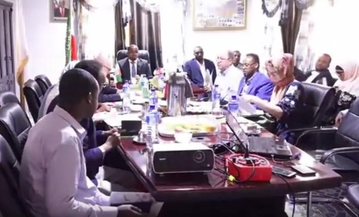 Gabilay:-Masuuliyin Ka Soda Dalka Swerland Oo Gaadhay Magaalada Gabiley+U Jeedka Safarkooda.