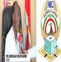 Daawo Prof Cabdisalaan Yaasiin oo Ka Hadlay Dib u Dhaca Doorashooyinka Somaliland Golayaasha Wakiilada Iyo Komishankana Eedo Culus Usoo Jeediyay
