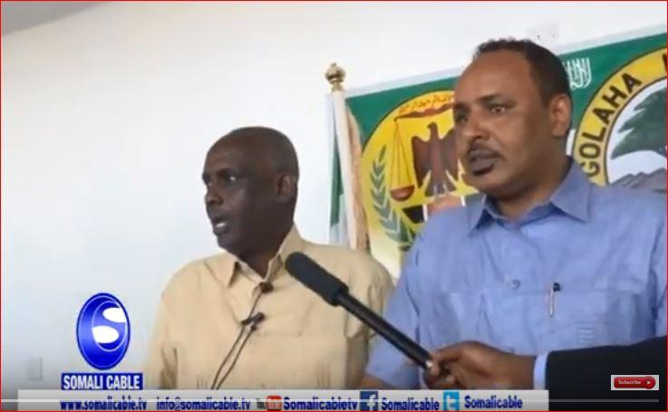 Hargeisa:-Wasiirka Gaashan Dhiga Somaliland Iyo Taliyaha Ciidanka Qaranka Somaliland Oo Kulan La Qaatay Xildhibaanada Goolaha Wakiilada +Arimaha Ay Ka wada Hadleen.