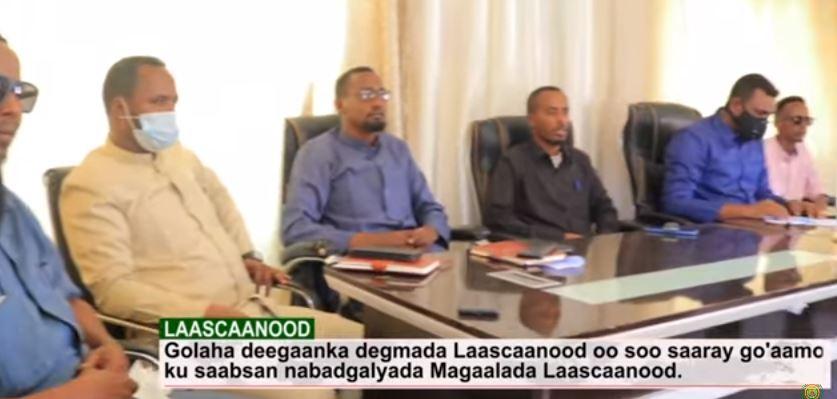 Daawo: Golaha deegaanka degmada Laascaanood oo soo saaray go'aamo ku saabsan nabadgalyada Magaaladaasi