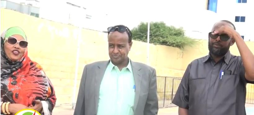 Gudaha:-Wasiirka Ciyaaraha Somaliland Oo Garoonka Timacade Ku Wareejiyay Shirkad Dayactiri Doonta