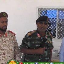 Daawo:-Waasarada Caafimadka Somaliland Oo Qalab Caafimad Ku Wareejisay Ciidanka Qaranka Somaliland.